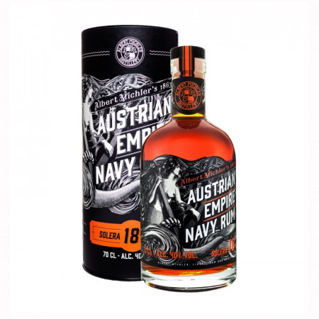 detail Austrian Empire Navy Rum 18y 0,7L 40% - tuba