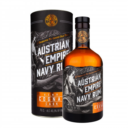 detail Austrian Empire Navy Rum Double Cask Cognac 0,7L 46,5%