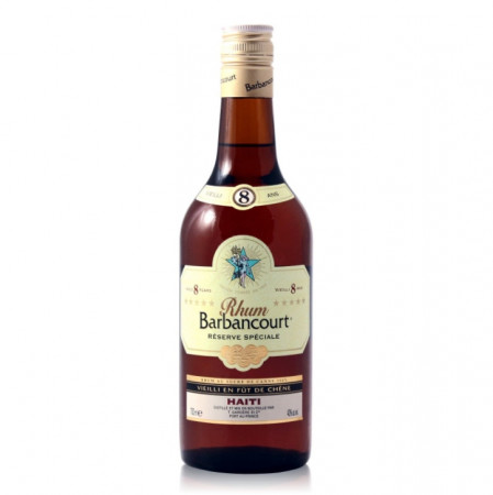 detail Barbancourt Rum 8 YO 0,7 L 43%