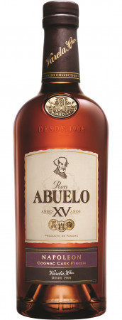 detail Abuelo Rum 15y Finish Coll. Napoleon 0,7L 40%