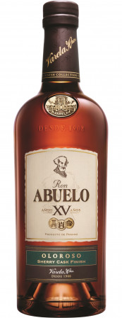detail Abuelo Rum 15y Finish Coll. Oloroso 0,7L 40%