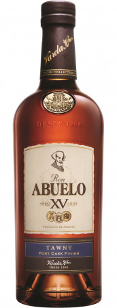 detail Abuelo Rum 15y Finish Coll. Tawny 0,7L 40%