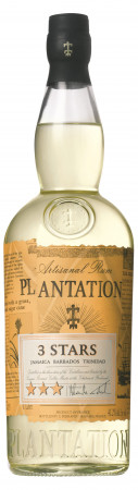 detail Plantation White 3 stars 0,7 L 41,2%