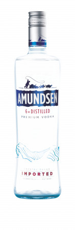 detail VODKA AMUNDSEN 1,0L 37,5%