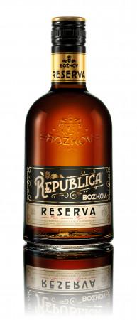 detail Božkov Republica Reserva 0,5L 40%