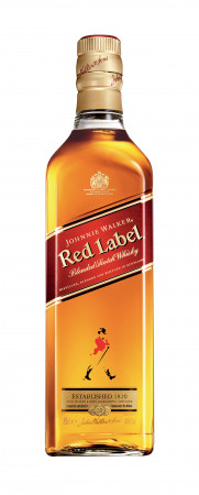 detail Johnnie Walker Red Label 0,05L 40%