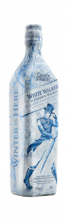 detail Johnnie Walker White 0,7L 41,7%