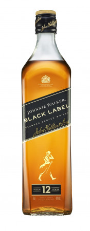 detail Johnnie Walker Black Label 0,7L 40%