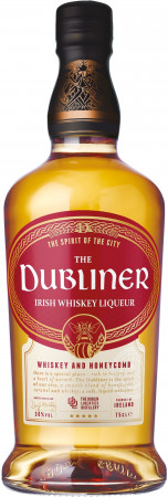 detail DUBLINER IRISH WHISKEY LIQUER 0,7L 30%