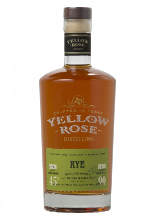 detail Yellow Rose Rye 0,7L 45%