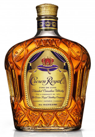 detail CROWN ROYAL CANADIAN WHISKEY 0,7L 40%
