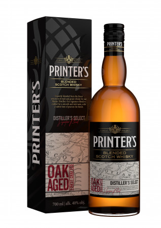 detail Printers Whisky 0,7L 40%