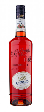 detail Giffard Wild Strawberry Liquer 0,7L 16%