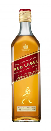 detail JOHNNIE WALKER RED LABEL 1,0L 40%