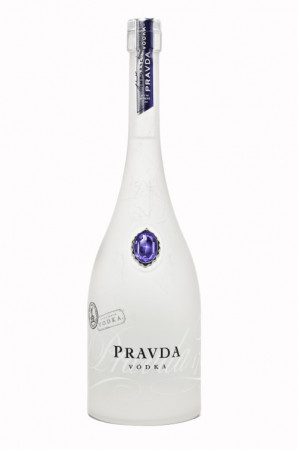 detail Pravda Vodka 1,0 L 40%
