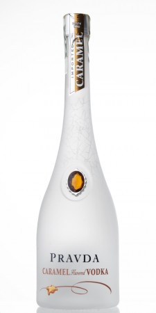 detail Pravda Vodka Caramel 0,7L 37,5%