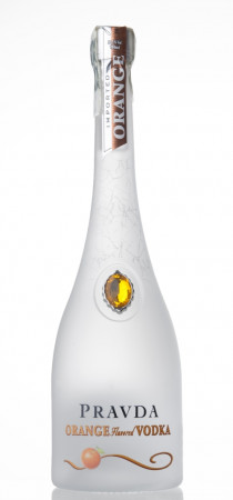 detail Pravda Vodka Orange 0,7L 37,5%