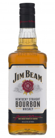 detail JIM BEAM WHITE 1,0L 40%