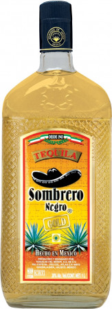 detail Sombrero Tequila Gold 1L 38%